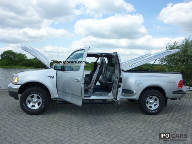 2000 Ford  F-150 XLT 5, 4i-Triton 4x4 Quadcap + LPG Off-road Vehicle/Pickup Truck Used vehicle photo