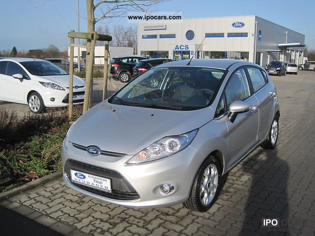 2012 Ford  Fiesta 1.4 Titanium Automatic climate rims Small Car Used vehicle photo