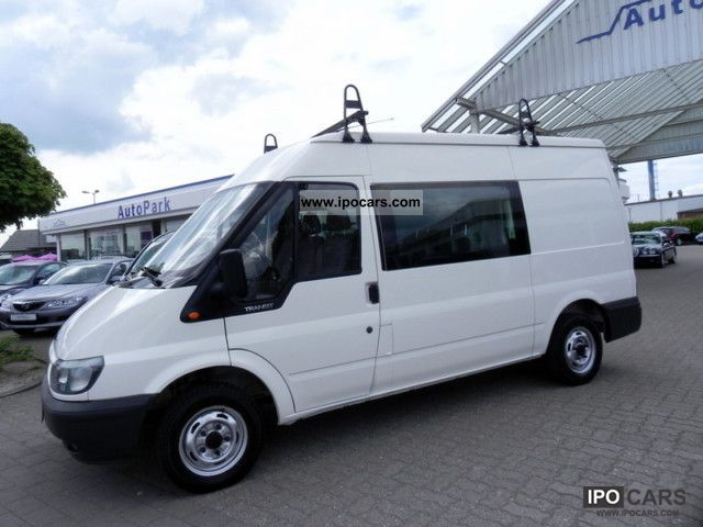 2000 Ford  Transit FT 300 M TD * 6 - seater * AHK * Sliding * Estate Car Used vehicle photo