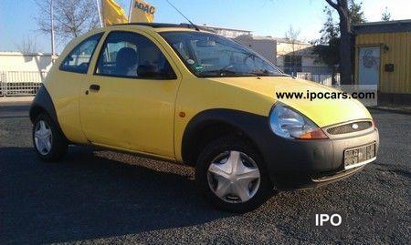 2002 Ford  Ka-ribik elektr.Faltschiebedach / CD / aluminum Small Car Used vehicle photo