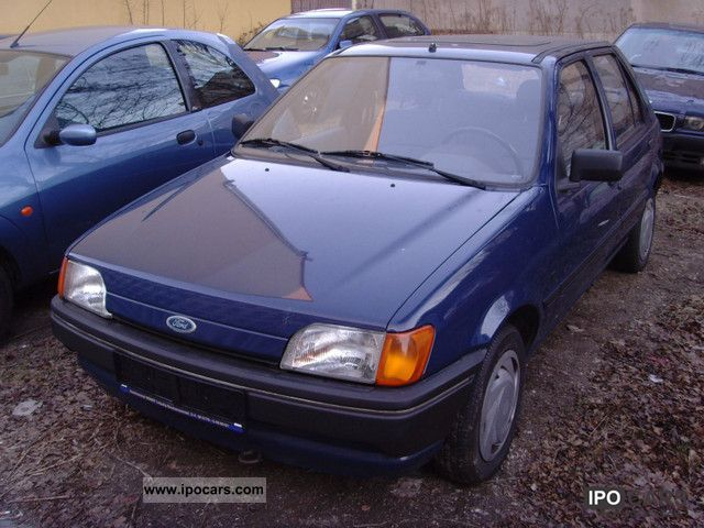 1991 Ford  Fiesta CLX first Hand 82TKM Small Car Used vehicle photo
