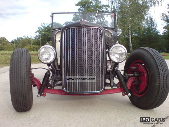 Ford  Model A Roadster Hot Rod 1930 Vintage, Classic and Old Cars photo