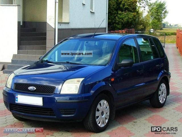2003 ford fusion tdci oszcz dny zarejestrowany car photo and specs. Black Bedroom Furniture Sets. Home Design Ideas