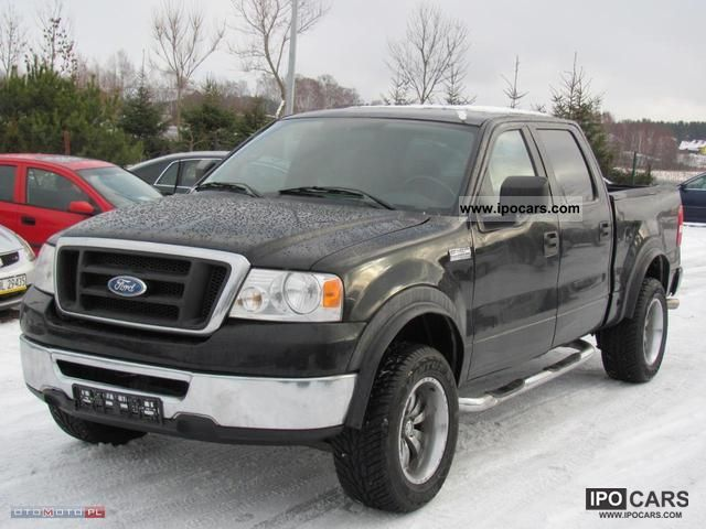 2006 ford f 150 4x4 5 4 v8 lpg leather climate car photo and specs. Black Bedroom Furniture Sets. Home Design Ideas
