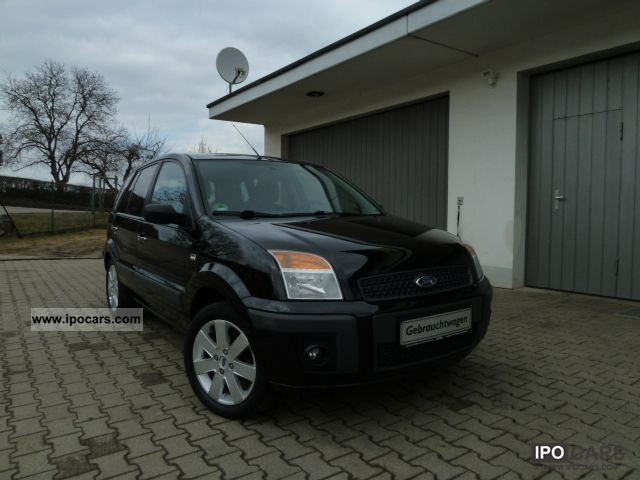 2006 Ford  Fusion 1.6 TDCi + + ALU KLIMAAUTOMATK AHK +2 Hd + EURO4 Small Car Used vehicle photo