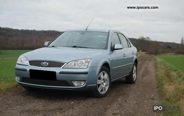 2006 ford mondeo 2 0 tdci ambiente car photo and specs. Black Bedroom Furniture Sets. Home Design Ideas