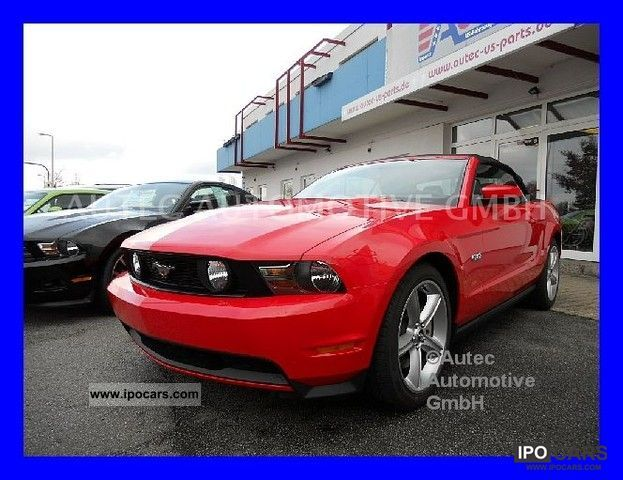 2011 Ford  MUSTANG GT PREMIUM CONVERTIBLE 5.0 AUTO. Cabrio / roadster New vehicle photo