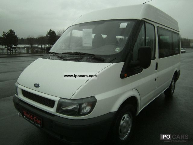 2001 Ford  Transit 2.0TD 9Sitze Bruns wheelchair lift 1Besitz Estate Car Used vehicle photo