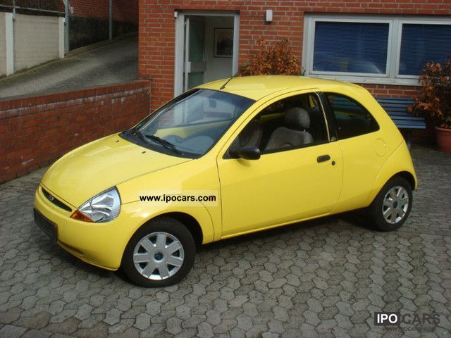 1999 Ford  Ka K2 Edition, climate, el.Fsh, WR, R / CDTüv 3/2014, NR, Small Car Used vehicle photo