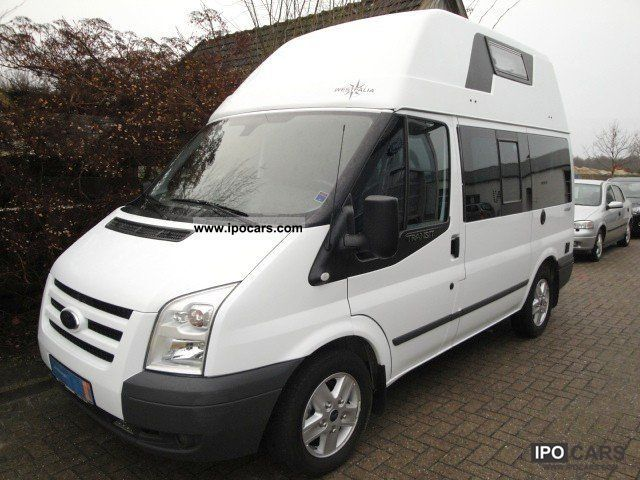 2011 Ford  Transit high roof Nugget 2.2 TDCi FT300K Van / Minibus Employee's Car photo