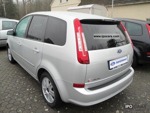 2007 ford c max 1 8 ghia 5 door car photo and specs. Black Bedroom Furniture Sets. Home Design Ideas