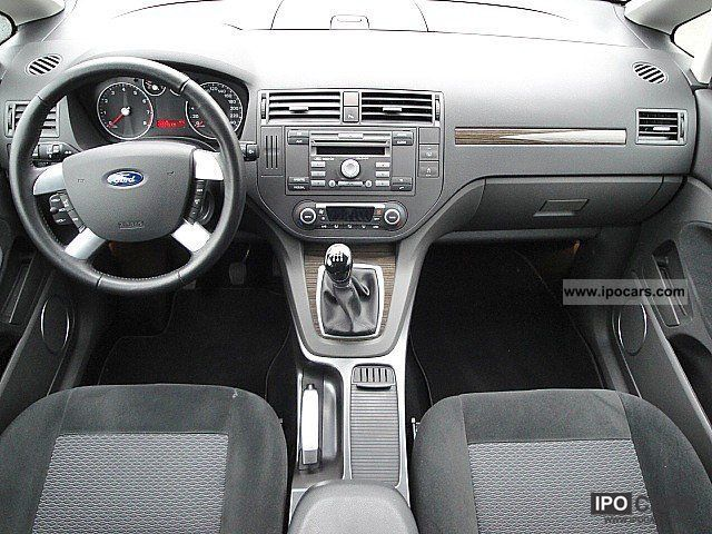 2007 Ford C Max 1 8 Ghia 5 Door Car Photo And Specs