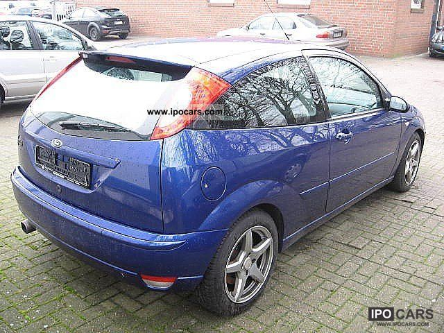 2004 Ford Focus St 170 2 0 3 Door Car Photo And Specs