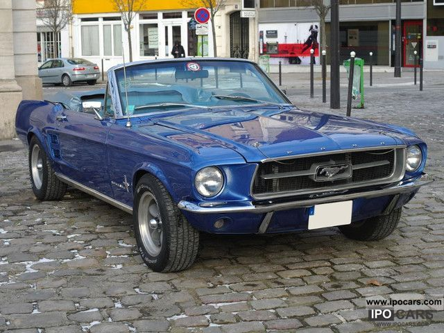Ford  Mustang 289 Convertible 1967 Vintage, Classic and Old Cars photo