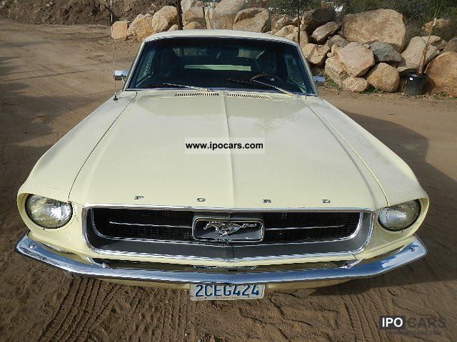 1967 Ford  Mustang Fastback 1967 -347 Stroker / 4 speed Sports car/Coupe Classic Vehicle photo