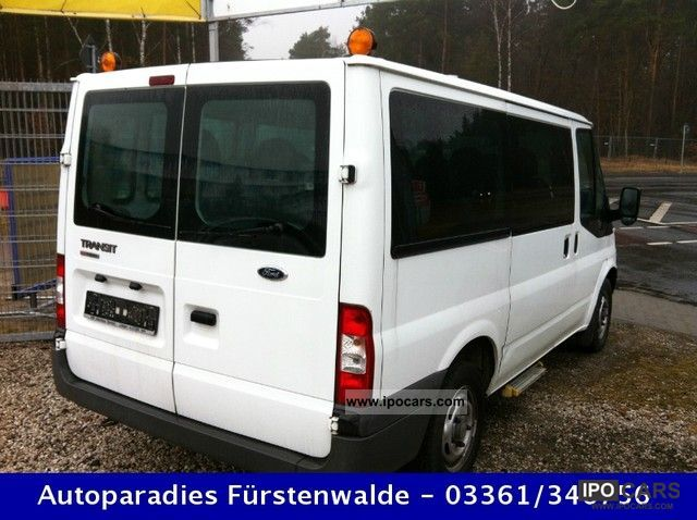 2007 ford transit t280 tdci 85 air 9sitzer green sticker car photo and specs. Black Bedroom Furniture Sets. Home Design Ideas