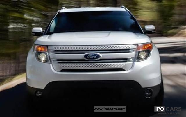 2011 Ford  EXPLORER = 2011 = Off-road Vehicle/Pickup Truck New vehicle (business photo