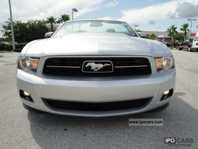 2011 Ford  MUSTANG CONV = 2012 = Sports car/Coupe New vehicle (business photo