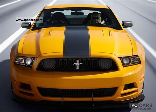 2011 Ford  MUSTANG BOSS = 2013 = 444HP (T1 exports -25.9%) Sports car/Coupe New vehicle photo