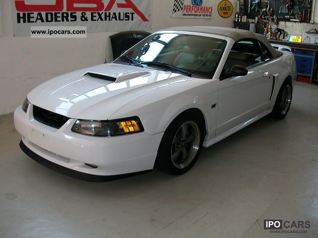 2001 Ford Mustang Gt V8 Convertible Cabrio Roadster