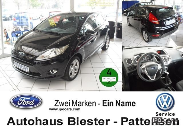 2012 Ford  Fiesta 1.6 Ti-VCT Titanium * PDC * +7 xAIRBAGS Small Car Pre-Registration photo