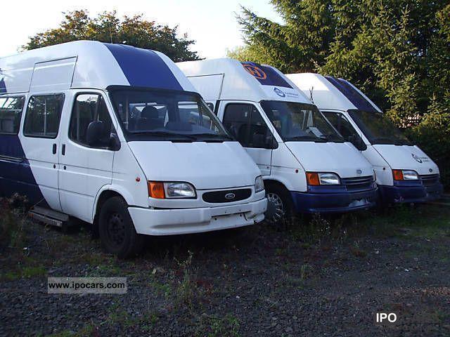 2000 Ford  Transit 9 seat minibus shuttle 7Stehplätze Van / Minibus Used vehicle photo