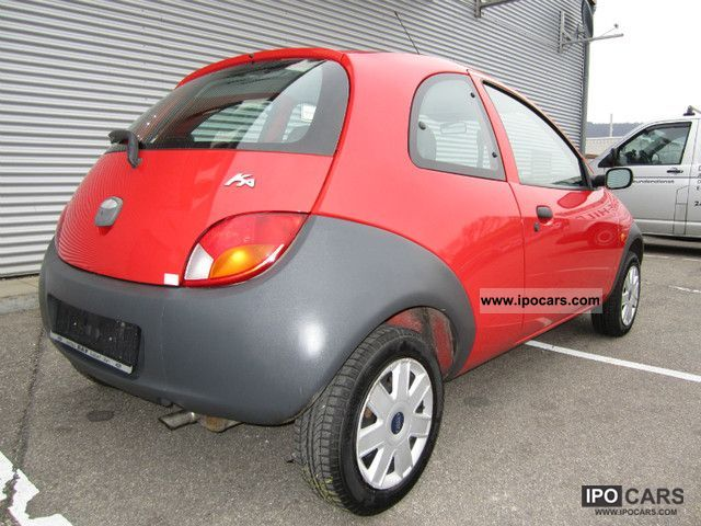 2006 ford ka 1 2 car photo and specs. Black Bedroom Furniture Sets. Home Design Ideas