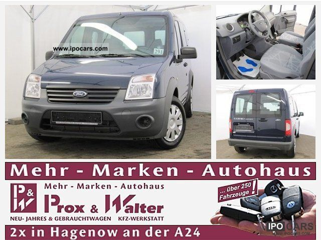 2011 Ford  Tourneo Connect 1.8 TDCi 5-seater AIR CONDITIONING Van / Minibus Pre-Registration photo