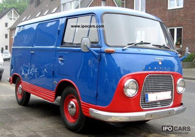 Ford  Taunus Transit FK 1250 1964 Vintage, Classic and Old Cars photo