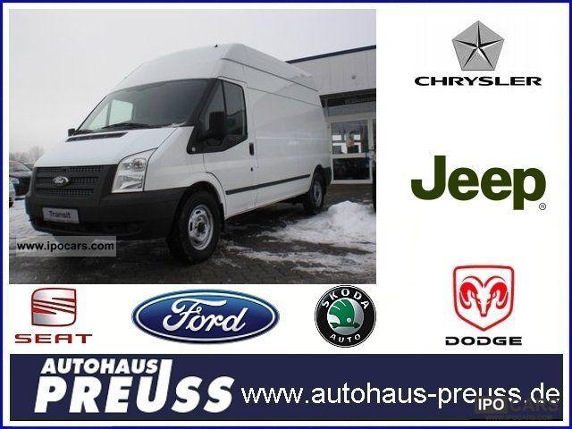 2012 Ford  Transit FT 330L base / Sortimo package Van / Minibus Pre-Registration photo