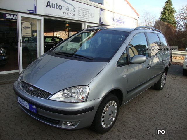 2006 Ford  Galaxy 1.9 TDI, automatic climate control, 7-SEATER, 1.Hand Van / Minibus Used vehicle photo