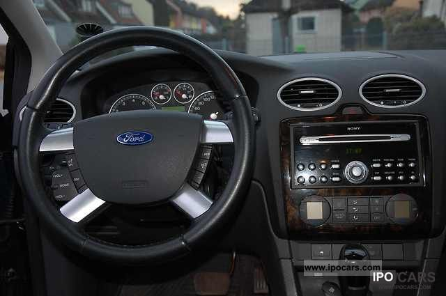 2006 ford focus 2 0 16v aut ghia car photo and specs for Ford focus 2006 interieur