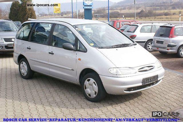 1997 Ford  Galaxy 1.9 TDI GLX * AIR * SEAT HEATER * AHK Van / Minibus Used vehicle photo