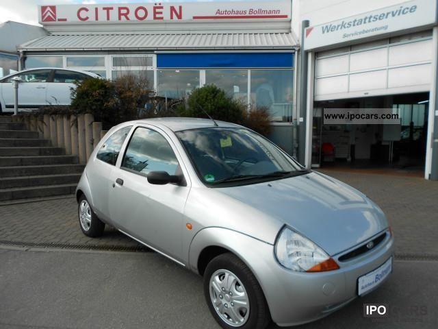 2000 Ford  Ka TÜV & AU NEW! * GUARANTEED * AIR * POWER STEERING Small Car Used vehicle photo