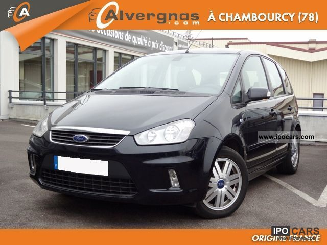 2007 ford c max 2 1 8 tdci 115 ghia car photo and specs