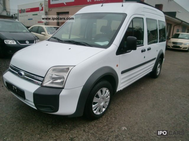 2007 Ford Tourneo Connect (long) towbar twin LX 8Sitzer ...