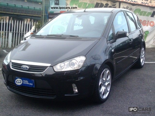 2007 ford c max tdci titanium 1600 car photo and specs. Black Bedroom Furniture Sets. Home Design Ideas