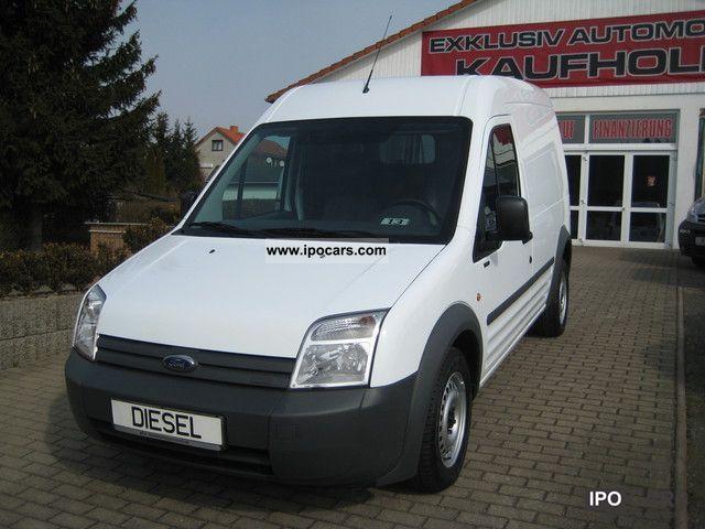 2007 Ford  Transit Connect 1.8TDCI long towbar + air + sliding door Van / Minibus Used vehicle photo