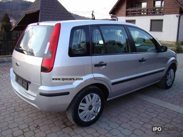 2003 ford fusion 1 6 16v 100 koni air car photo and specs. Black Bedroom Furniture Sets. Home Design Ideas