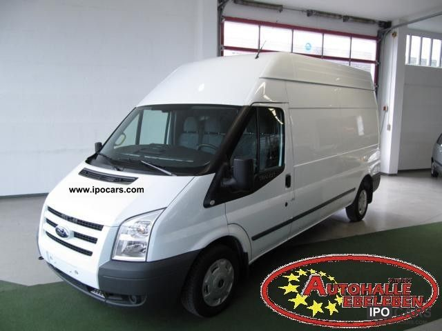 2010 Ford  Transit FT 300 L 2.2 TDCI high + long + DPF + AIR Estate Car Used vehicle photo