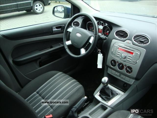 2009 Ford Focus Sw 1 6 16v 74kw Trend Car Photo And Specs