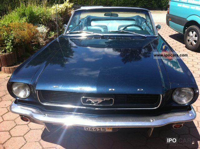 Ford  Mustang V6 Convertible 1965 Vintage, Classic and Old Cars photo