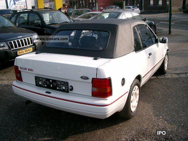 1986 ford escort mpg