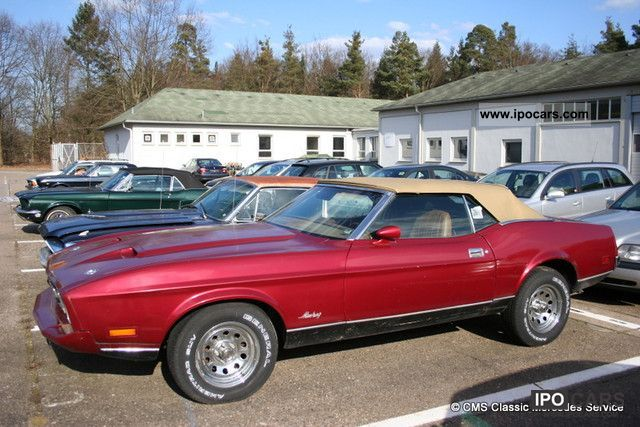 Ford  Mustang Convertible \ 1973 Vintage, Classic and Old Cars photo