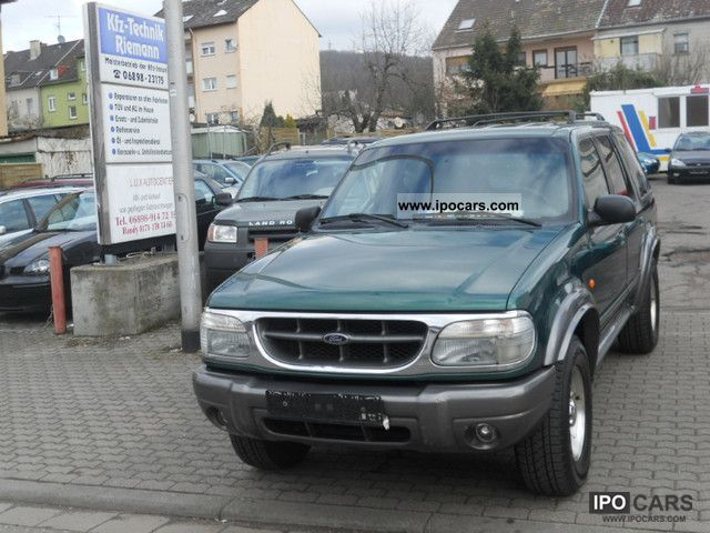Ford  Explorer High Class ** GAS ** ** EURO2 2000 Compressed Natural Gas Cars (CNG, methane, CH4) photo