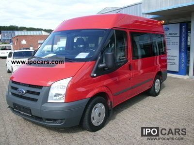 2009 Ford  Transit FT 280 K TDCi medium high + double-air- Estate Car Used vehicle photo