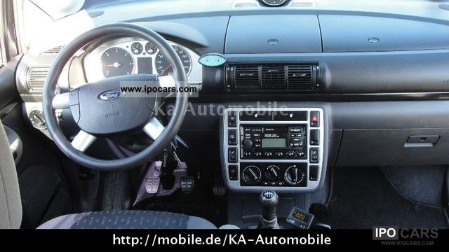 2003 Ford Galaxy Tdi Ambiente Green Sticker 7 Seater