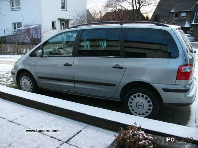 2006 ford galaxy tdi trend x car photo and specs. Black Bedroom Furniture Sets. Home Design Ideas