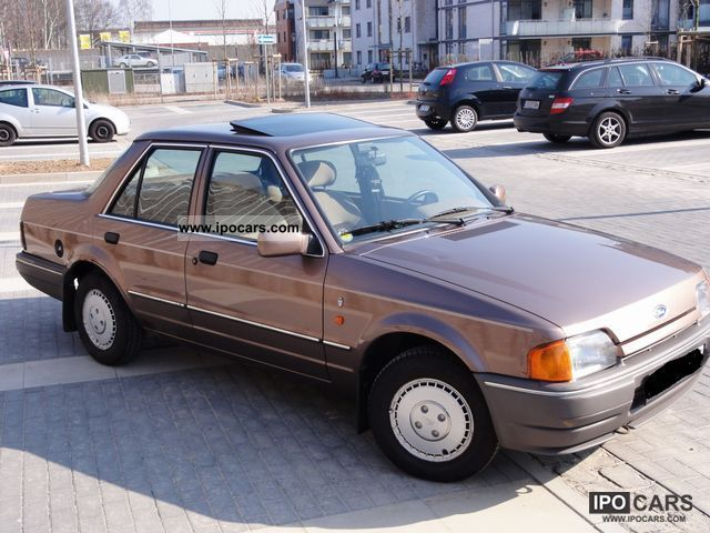 1989 Ford Orion Ghia Car Photo And Specs