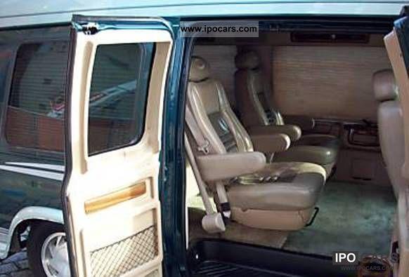2002 Ford Econoline High Roof Navigation System TV DVD